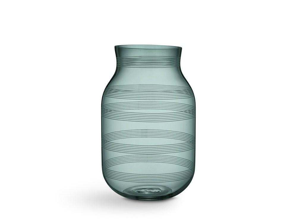 Kähler Omaggio Vas Ø18 cm Grön