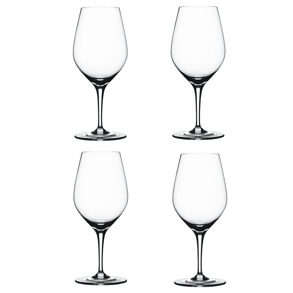 Spiegelau Authentis Vin Prøveglass Glass 32 cl 4pack