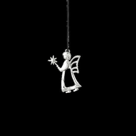 Rosendahl Ängel med trollspö 7cm Försilvrad