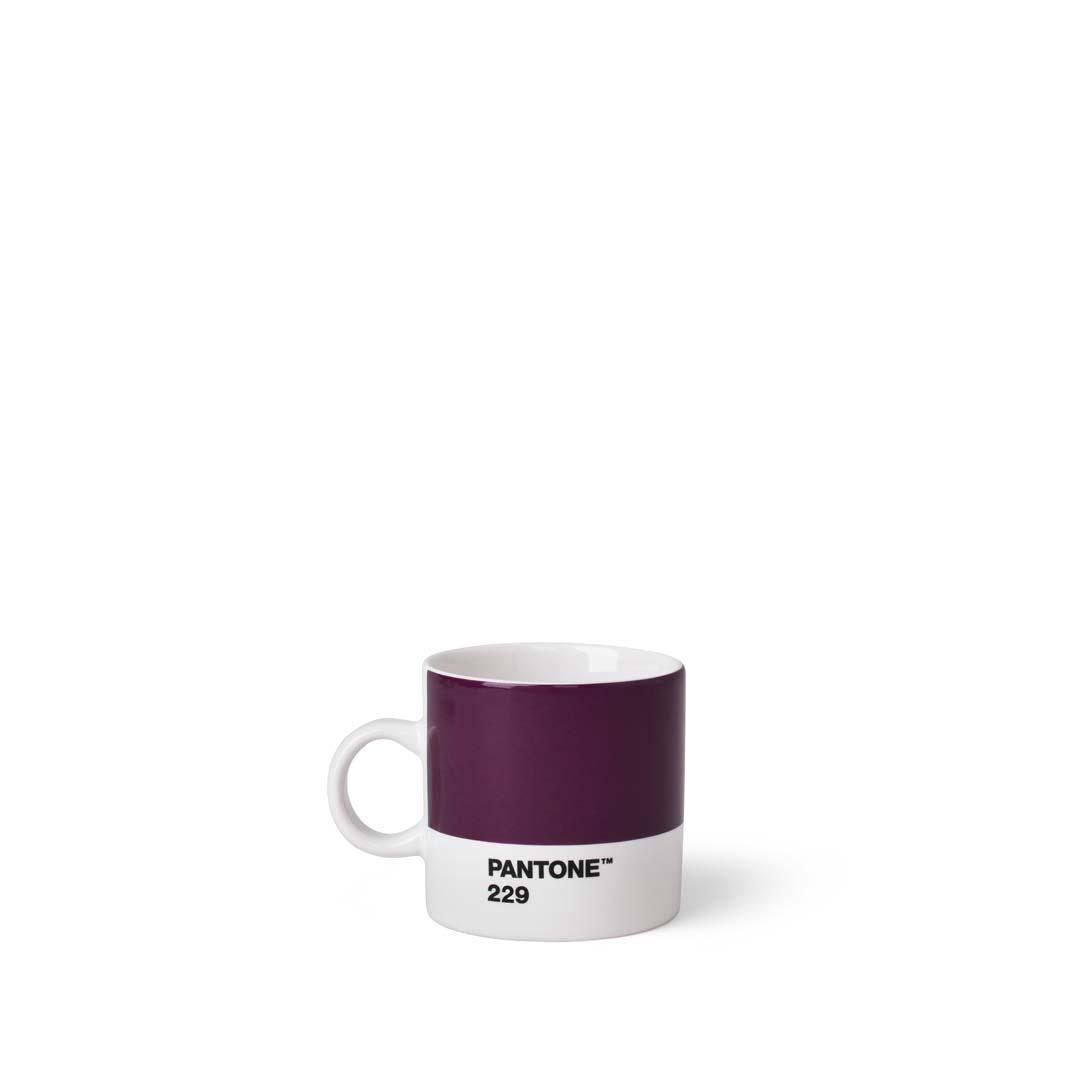 Pantone Living Espressokopp, 12 cl Aubergine