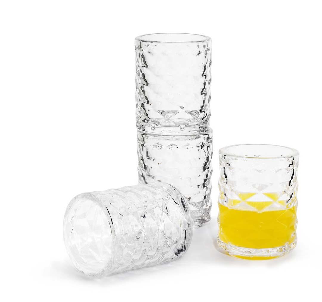 Sagaform Club Shotglas, 4-pack