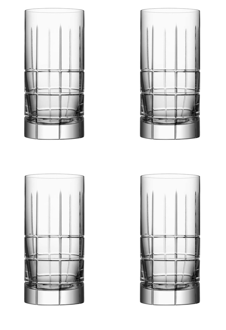 Orrefors Street Highballglas 4 Pack 45 cl