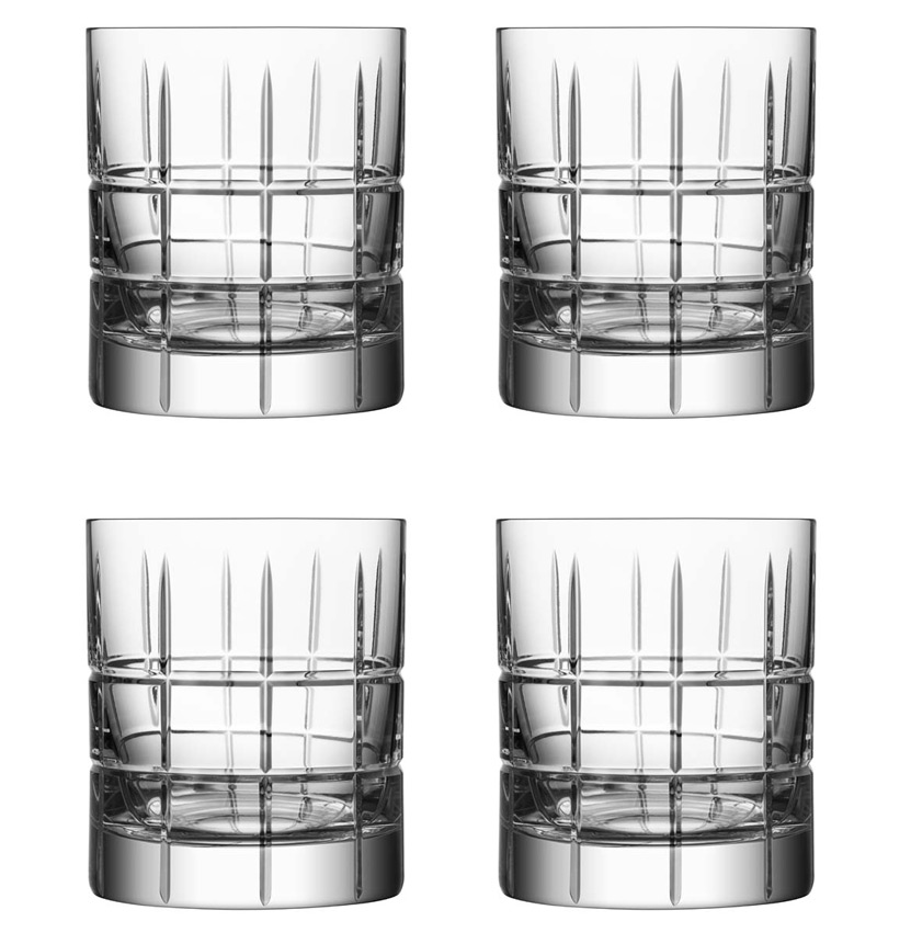 Orrefors Street Old Fashionglas 4 Pack 27 cl