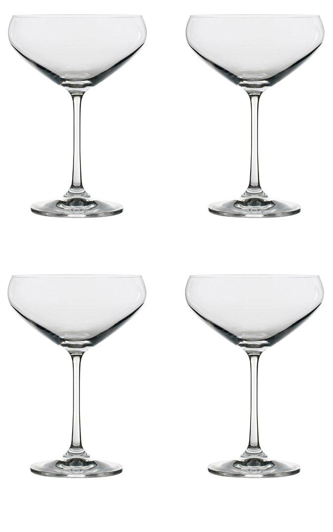 Lyngby Glass Juvel Champagneglass Party 34 cl 4 stk