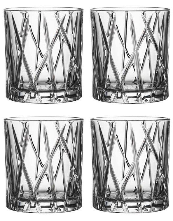 Orrefors City Whiskyglas OF 24 cl 4-pack