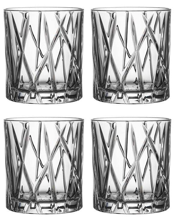 Orrefors City Whiskyglas OF 24 cl 4-pack