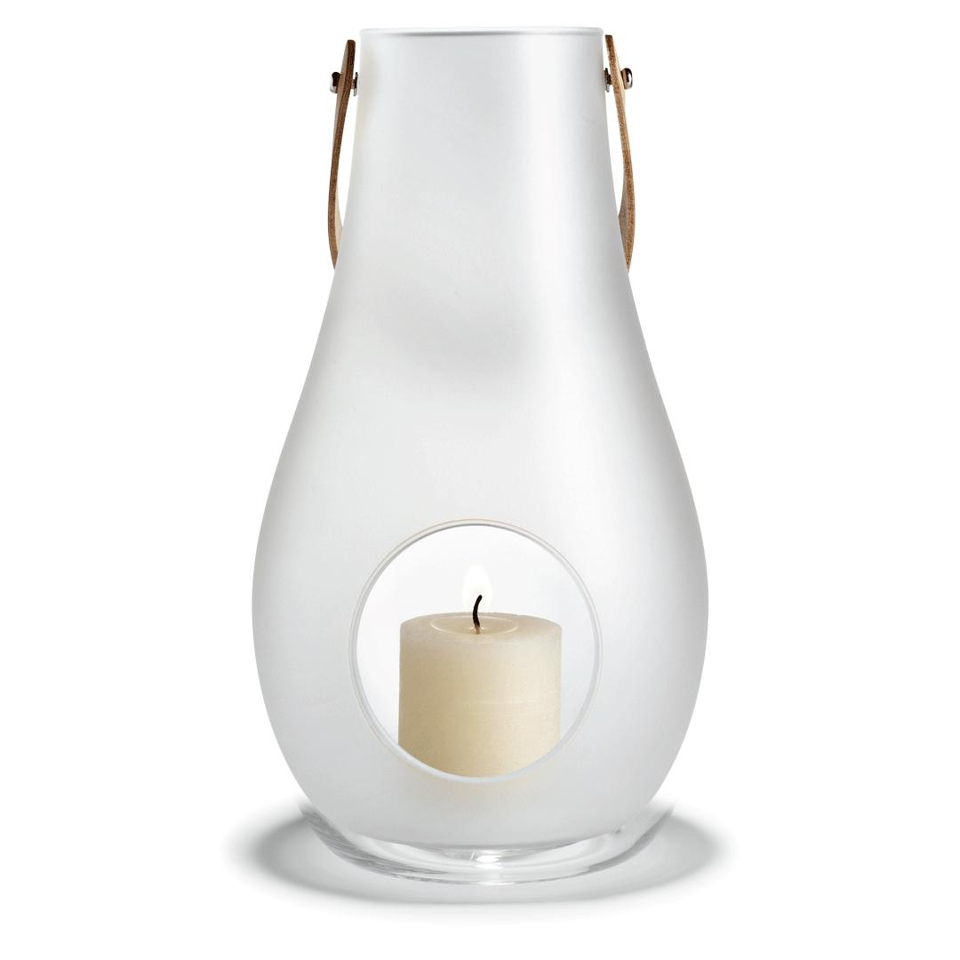 Holmegaard DWL Lanterna 45 cm vit
