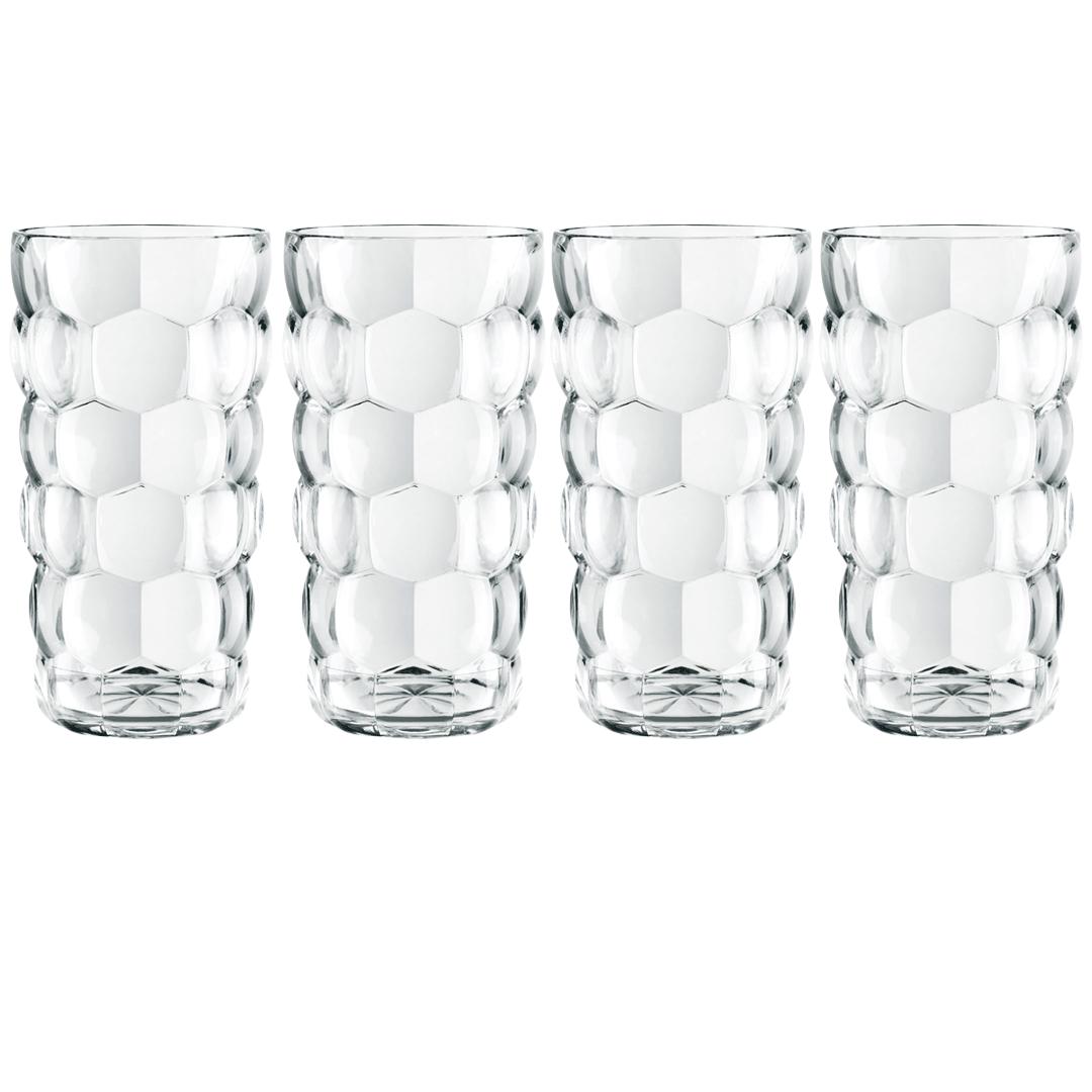 Nachtmann Bubbles Longdrink Glass 39 cl 4 stk
