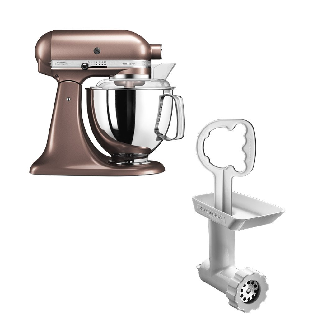 KitchenAid Artisan 175 Bronze Metallic + Kjøttkvern FGA