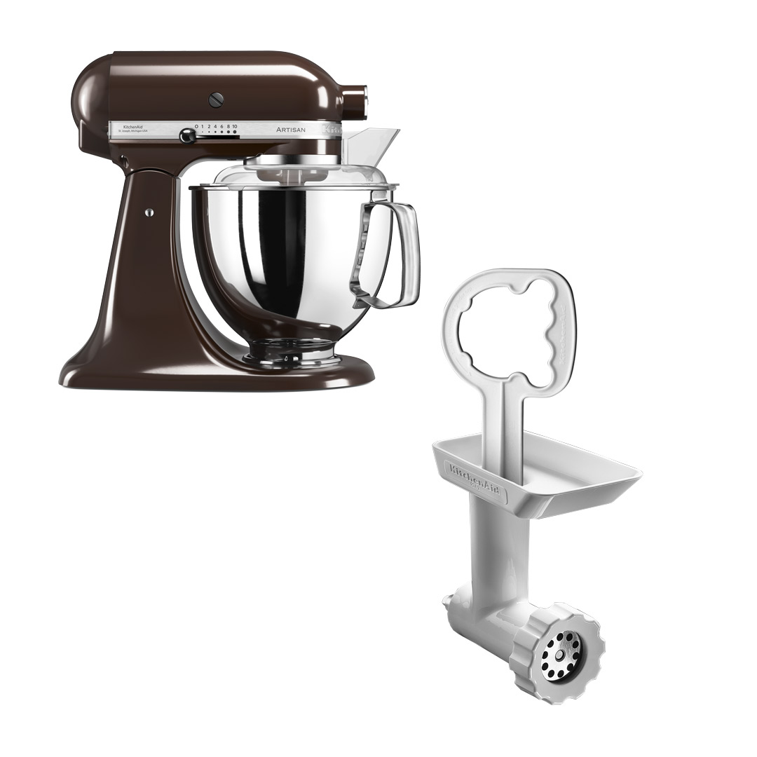 KitchenAid Artisan 175 Espressobrun + Kjøttkvern FGA