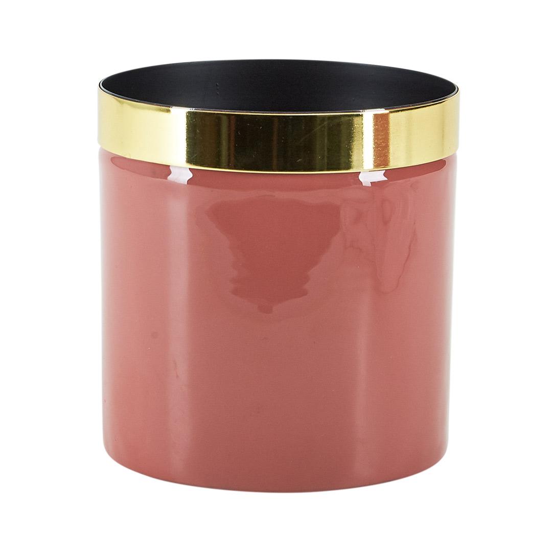Potteskjuler Blush Med Gull 12 cm