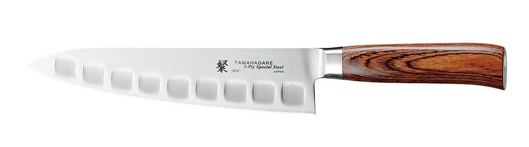 Tamahagane SAN Kokkekniv 21 cm Olivenslipt