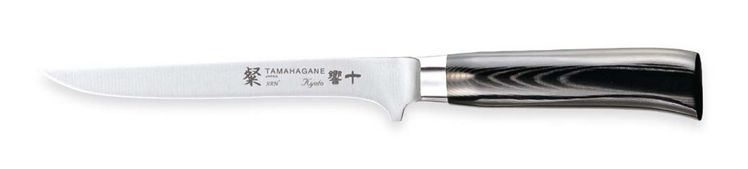 Tamahagane San Kyoto Fileteringskniv Solid Fleksibel 16 cm