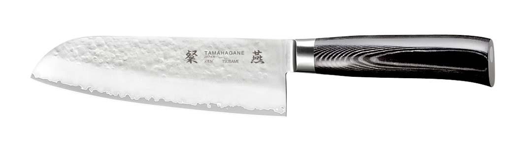 Tamahagane SAN Tsubame Santokukniv 17,5 cm