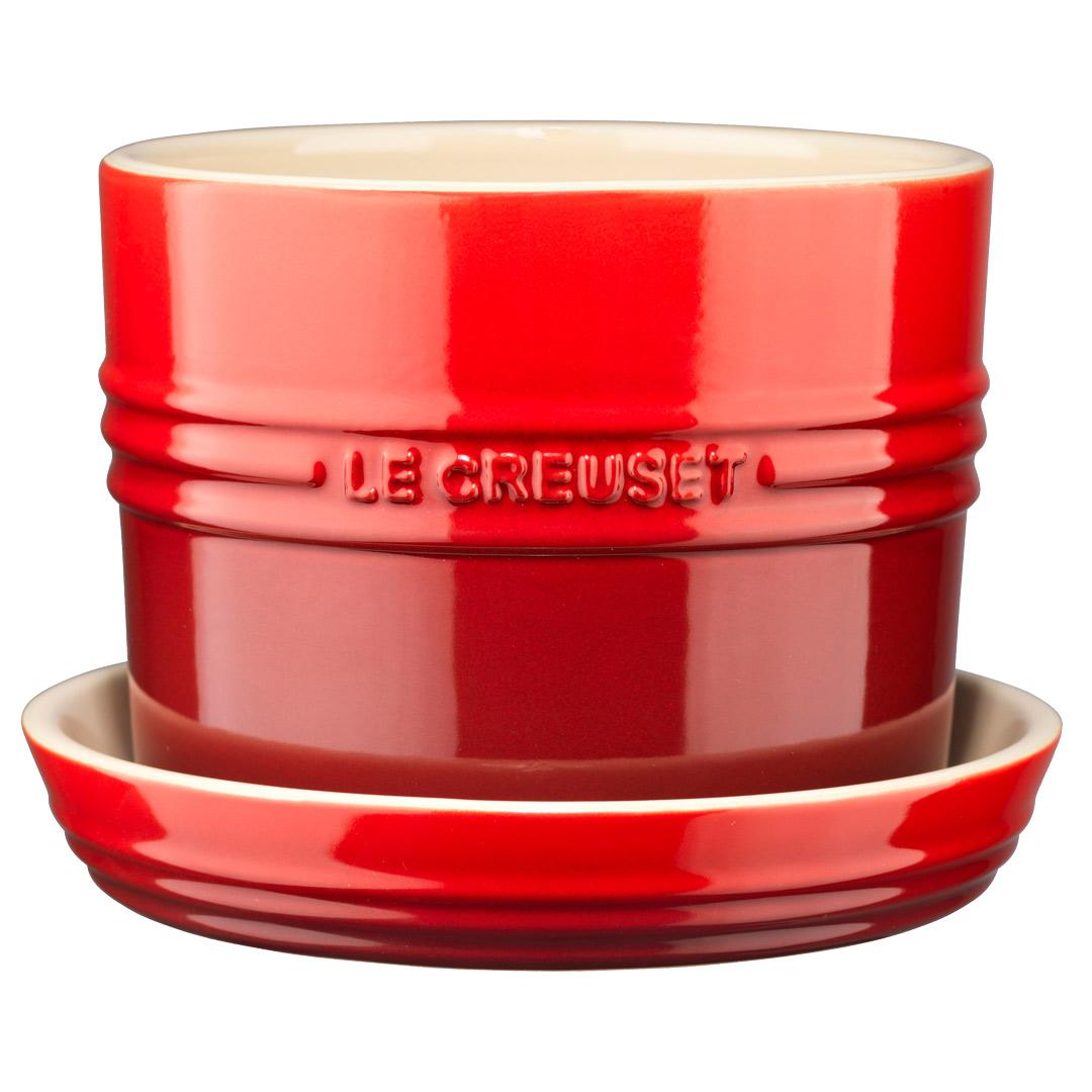 Le Creuset Örtkruka 13cm Röd