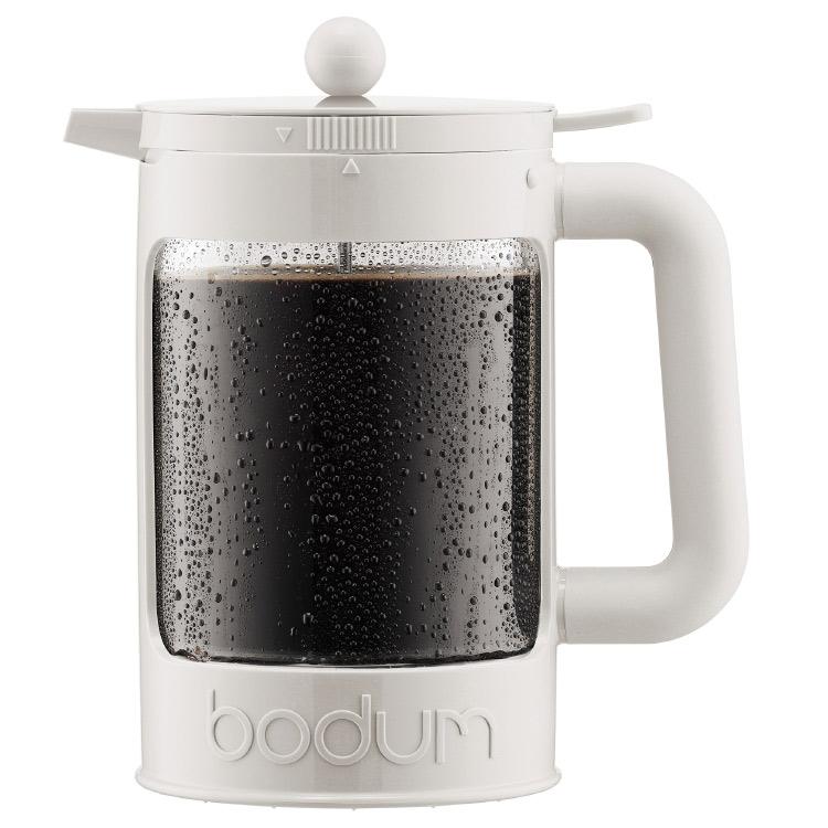 Bodum Bean Vit Iskaffebryggare 12 Koppar 1,5 l