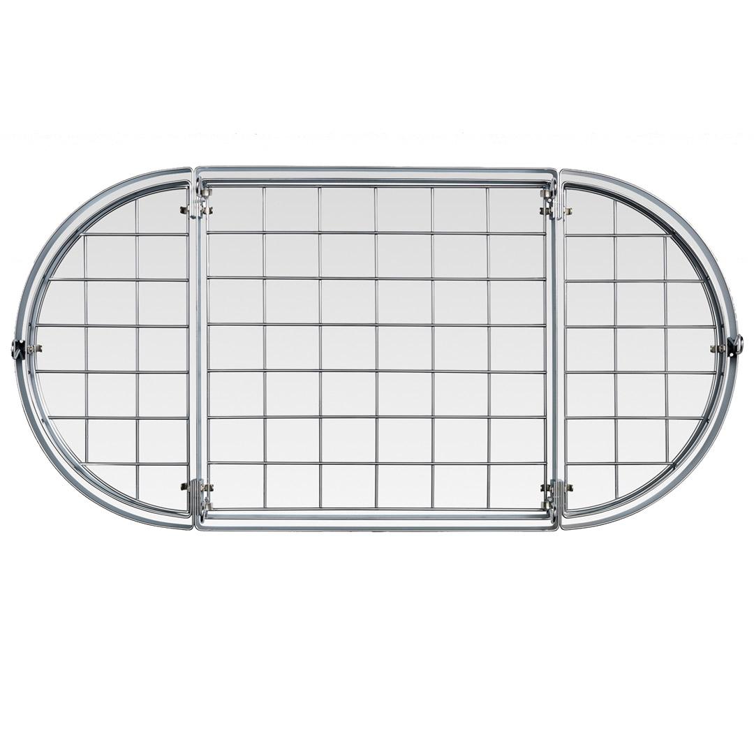Hahn Premium Oval Takhängare 102x52 cm Krom