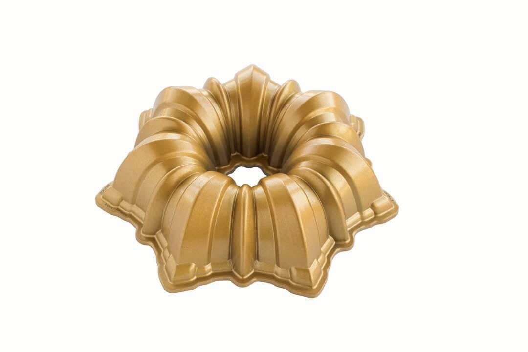 Nordic Ware Solera Bundt Pan, Gold
