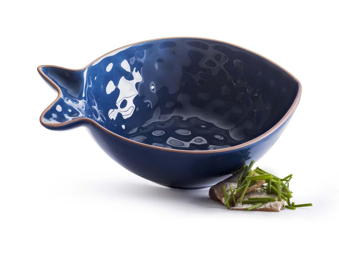 Sagaform Fish Skål Liten Blå
