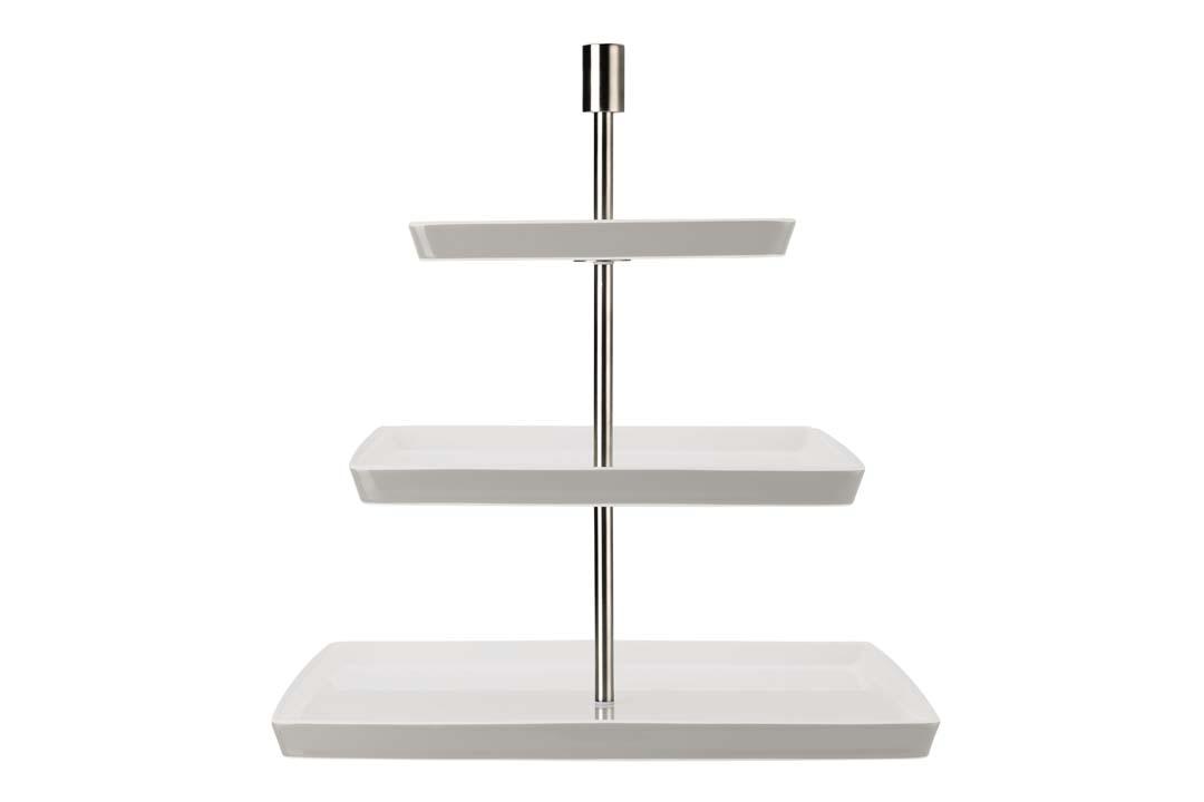 Rosenthal Loft Kakefat 3 nivåer Kvadratisk