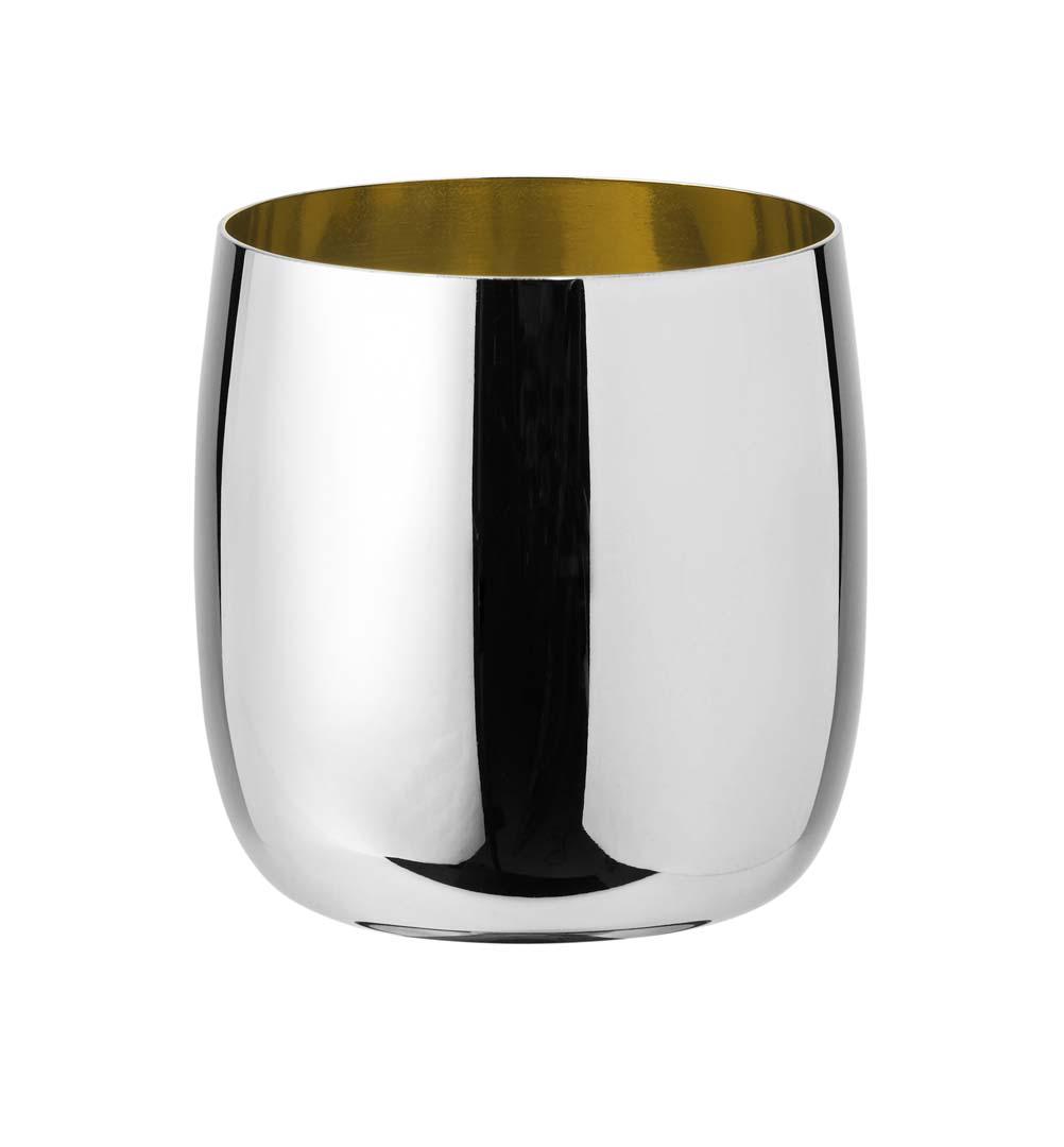 Stelton Foster Vinglas 0,2 L Stål/Guld