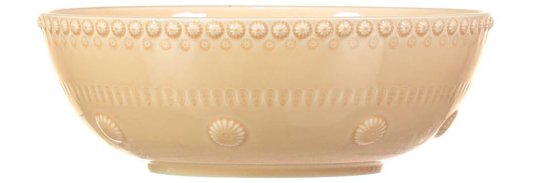 PotteryJo Daisy Salladsskål 30 cm Nude