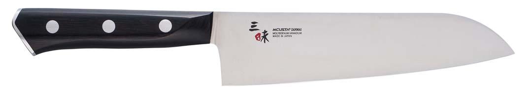 Zanmai Modern Molydenum Santoku 18 cm