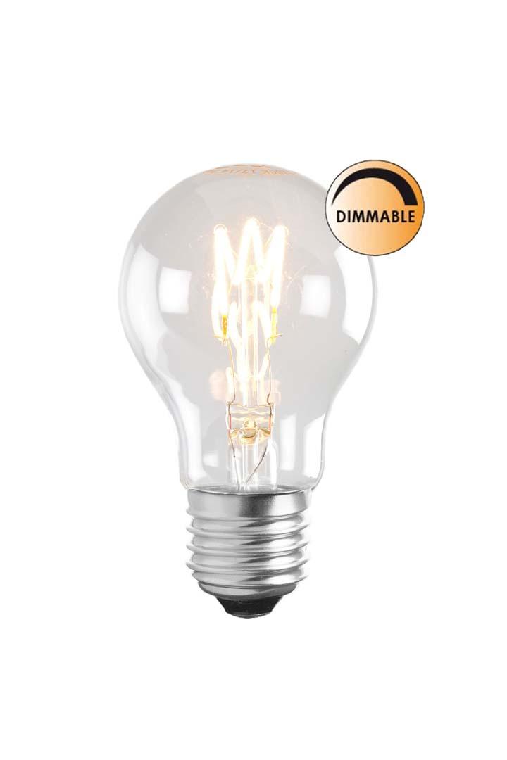 Globen Lighting Lyspære LED Soft Filament Dimbar Klar Normal