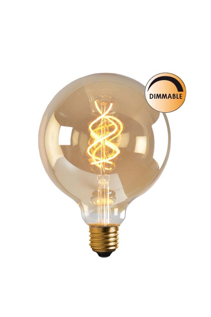 Globen Lighting Lyspære LED Soft Filament Dimbar Gull 100 mm