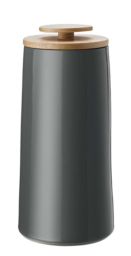 Stelton Emma Kaffebehållare/förvaringsburk, 500 g Mörkgrå