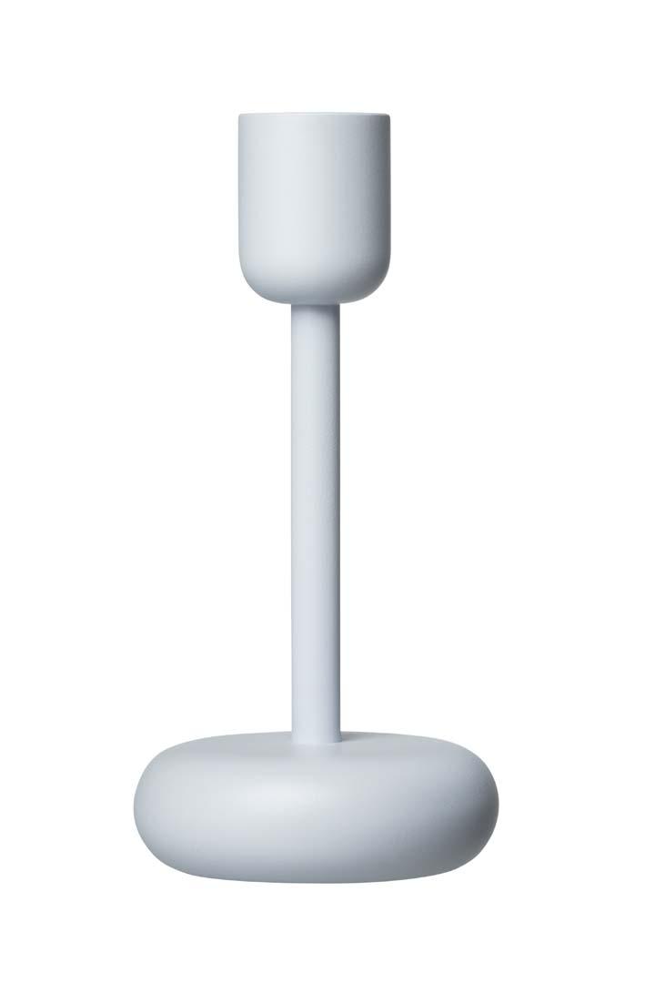 Iittala Nappula ljusstake 183 mm aqua