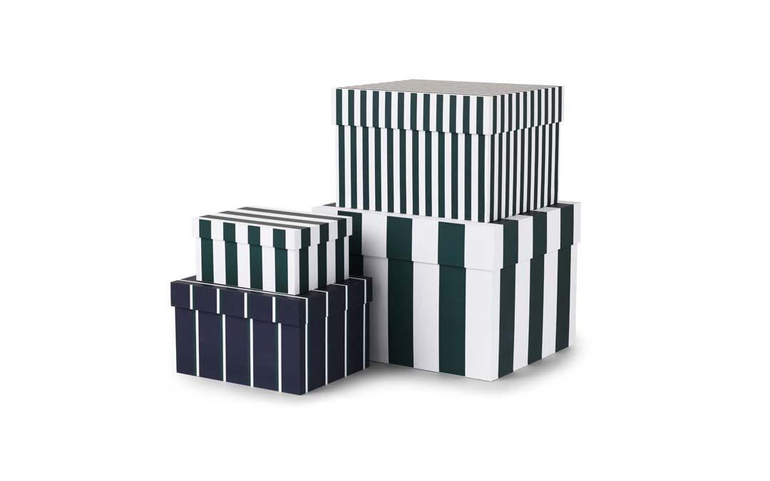 Tivoli Boxar med ränder 4 St. Garden Green