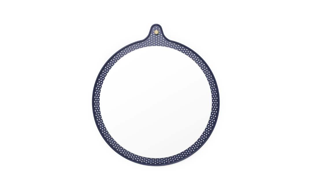 Tivoli Ticket Mirror Liten Ø 45 cm Dusk Blue