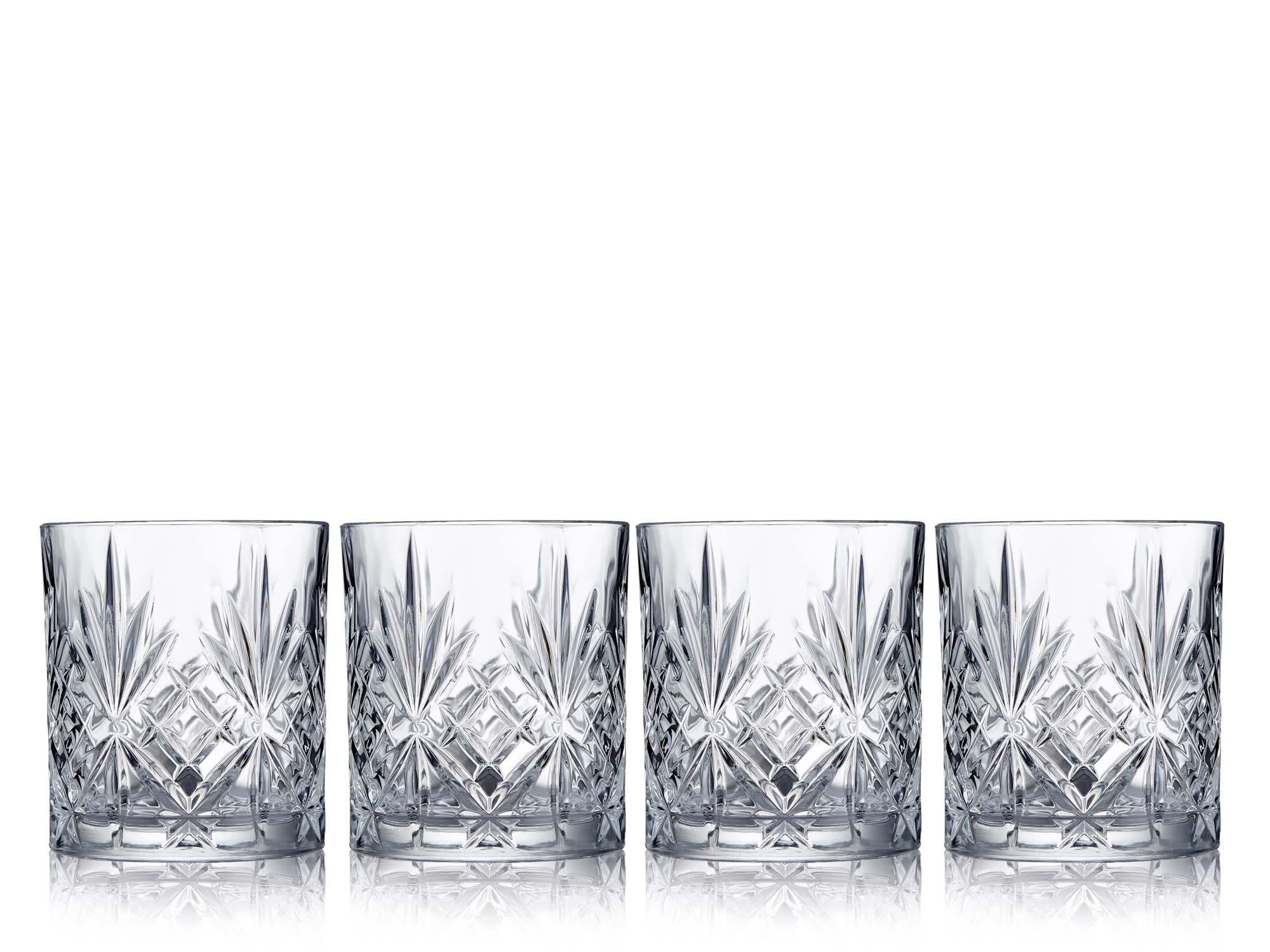 Lyngby Glass Shotglass Melodia 5 cl 4 st