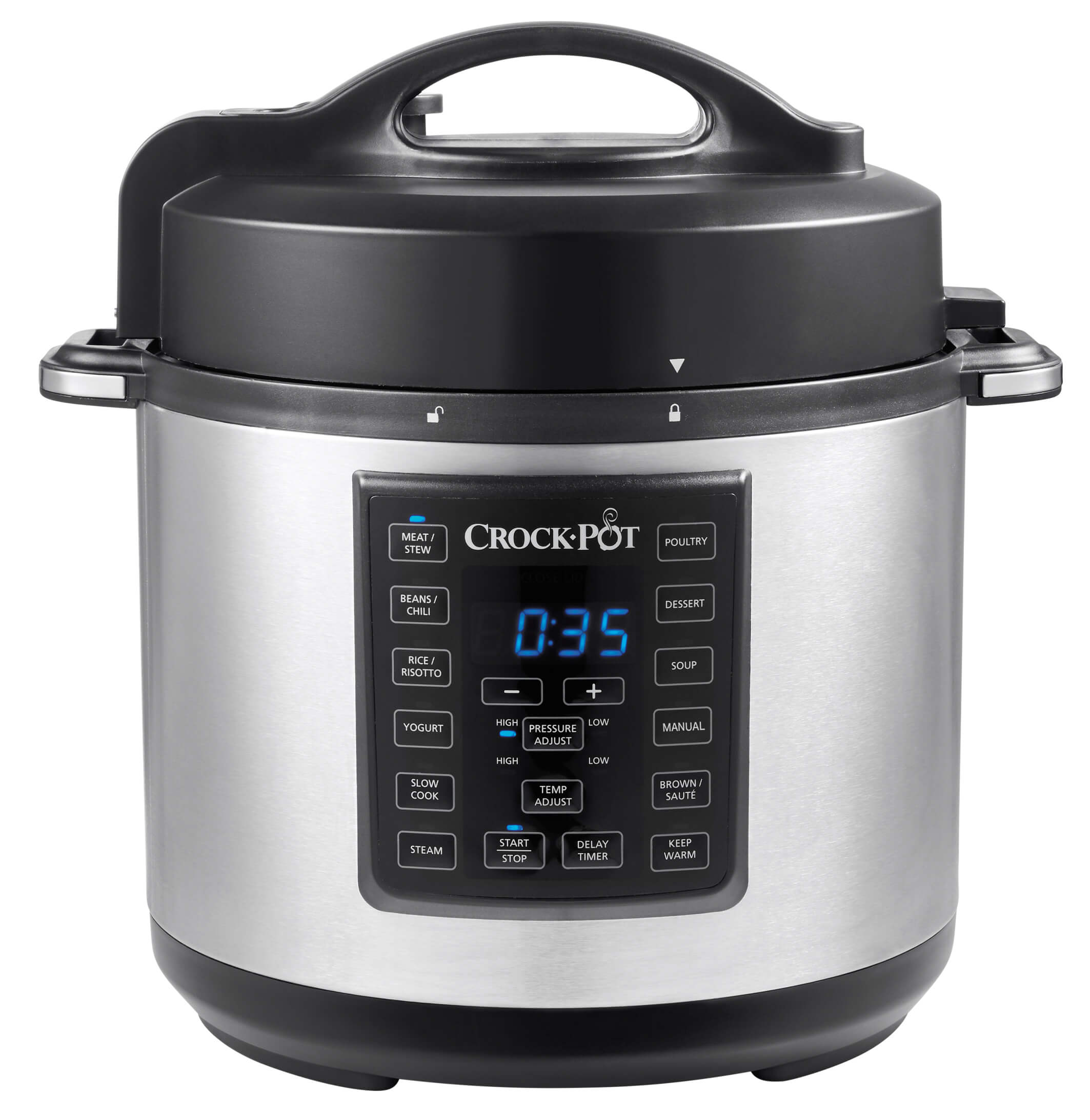 Crock Pot 5,7L Express Multicooker Rostfri