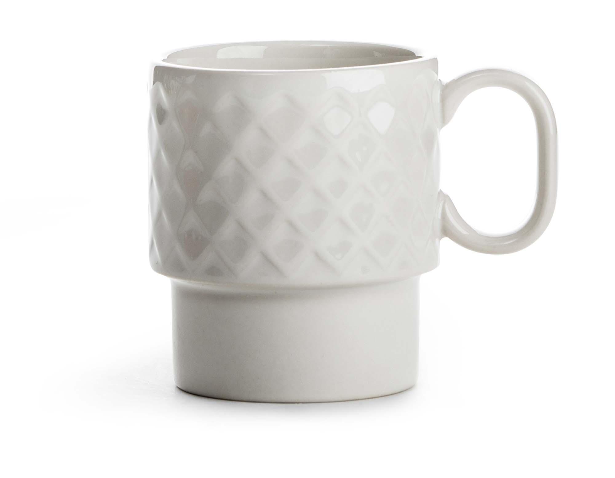 Sagaform Coffee & More kaffekrus Hvit