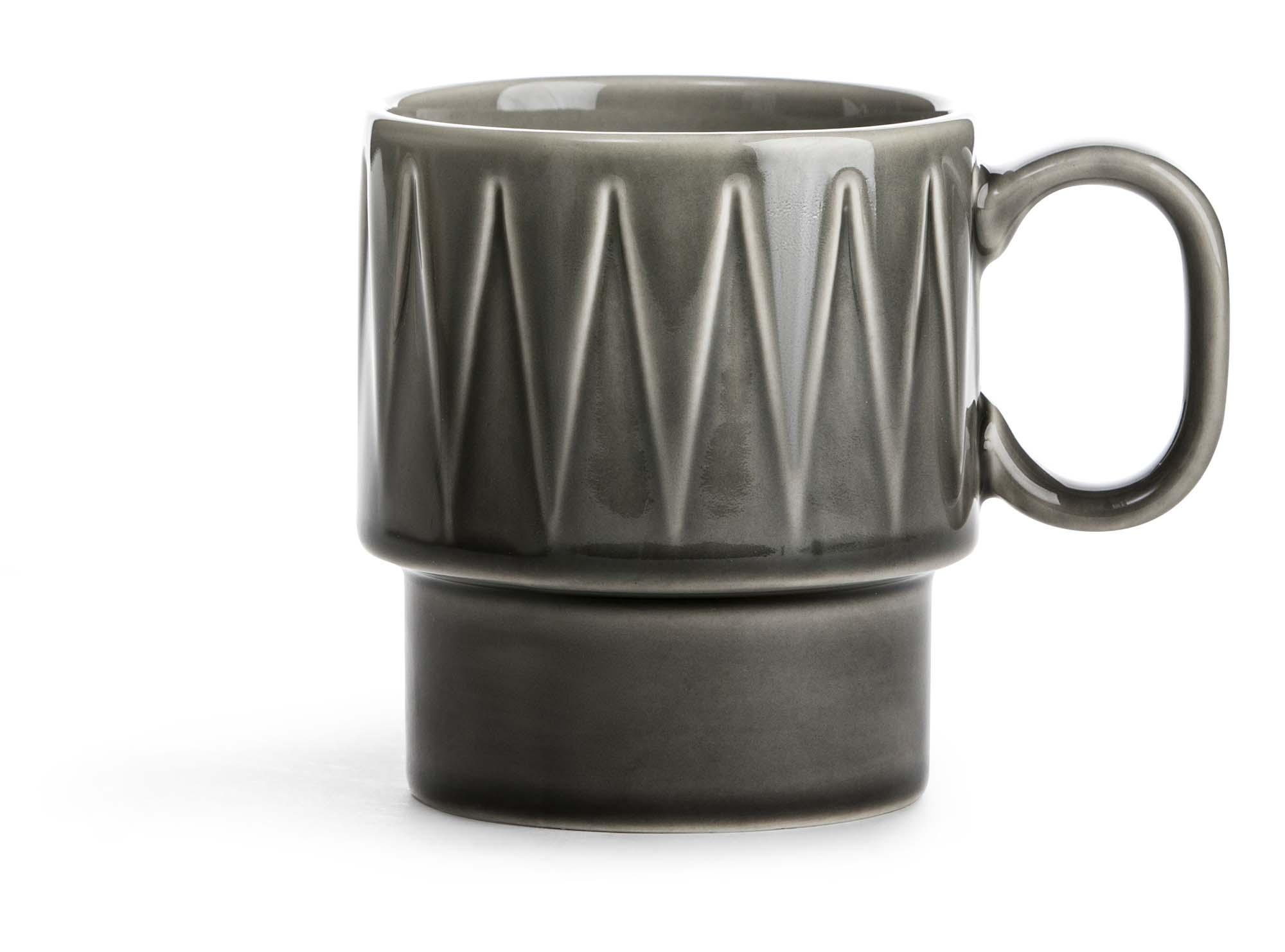 Sagaform Coffee & More kaffekrus grå