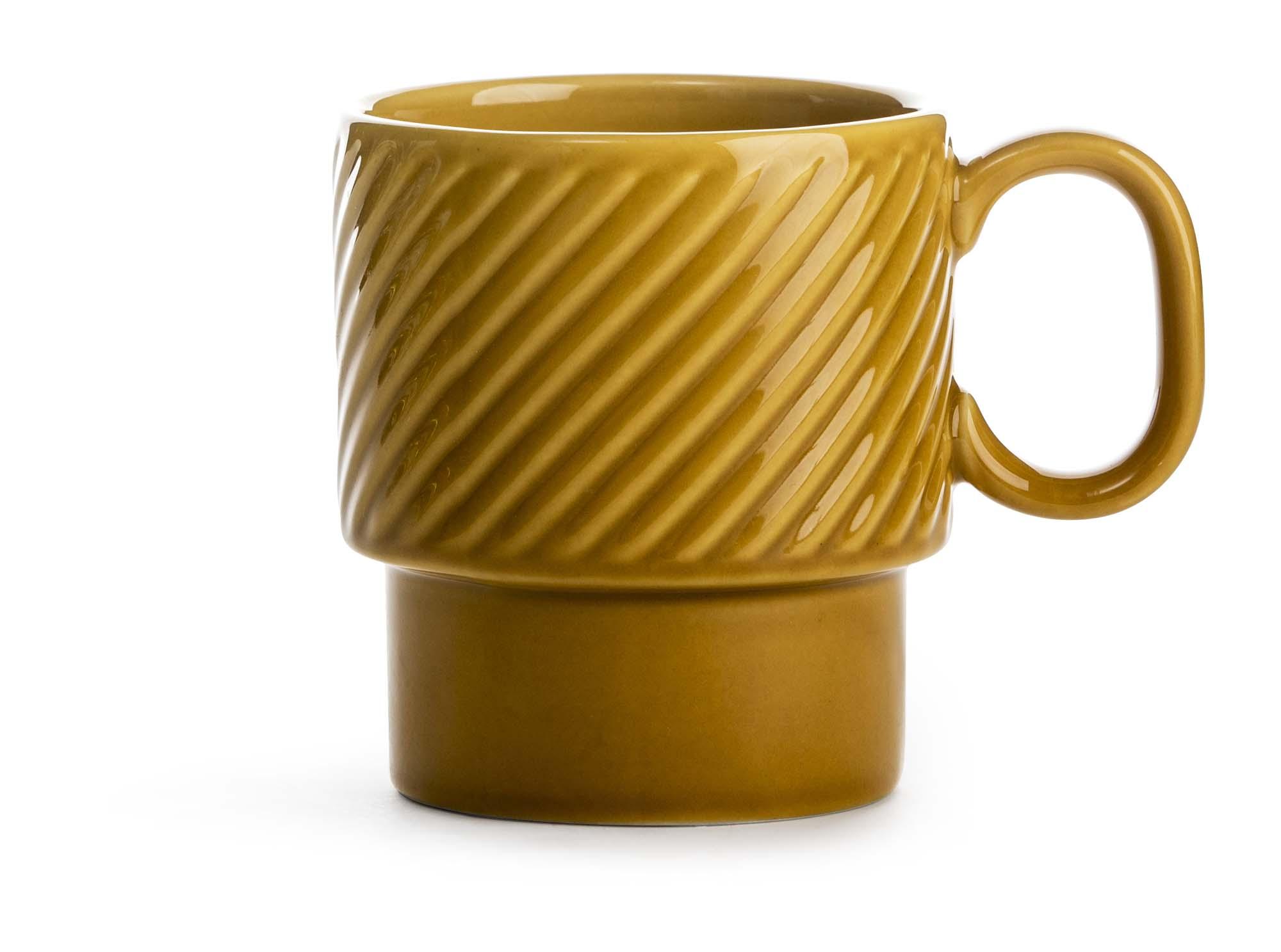 Sagaform Coffee & More kaffekrus gul