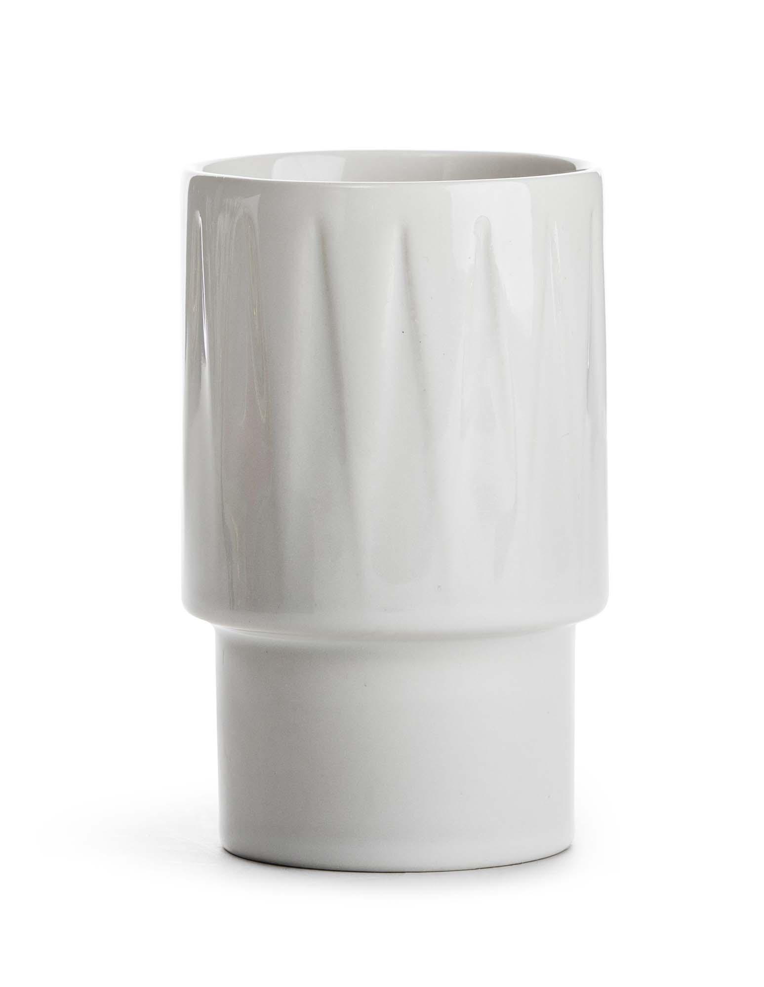 Sagaform Coffee & More lattekrus hvit