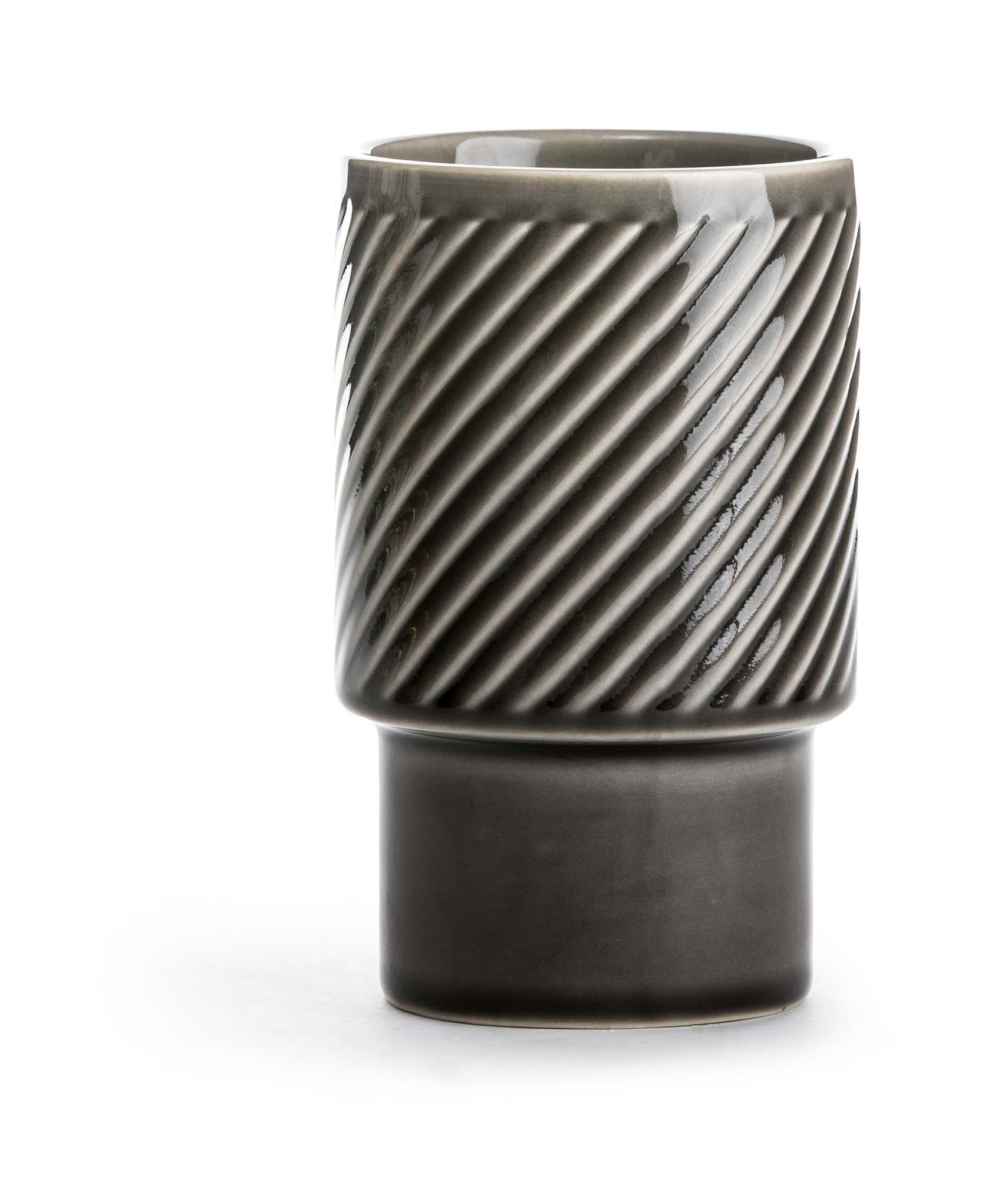 Sagaform Coffee & More lattekrus grå