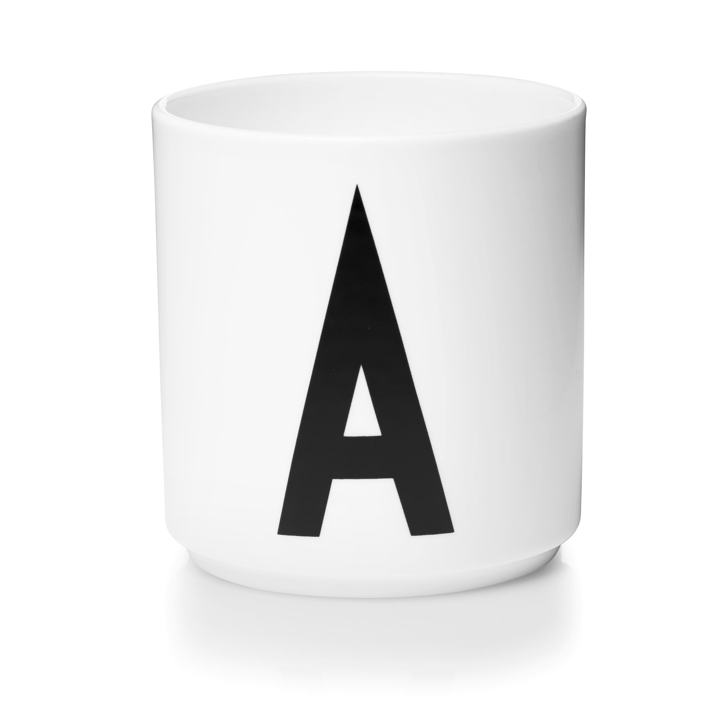 Design Letters Porslinsmugg Vit, A