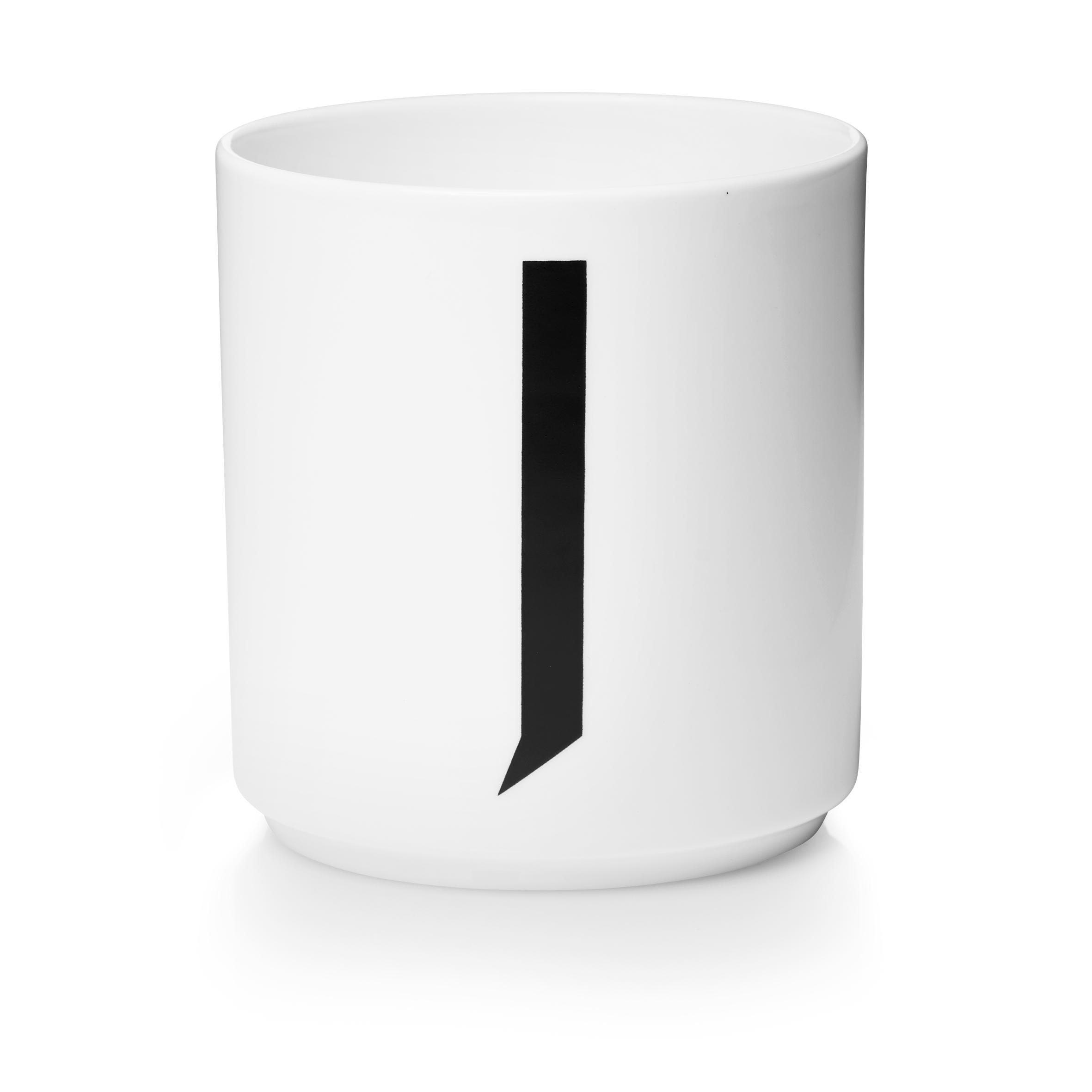 Design Letters Porslinsmugg Vit, J