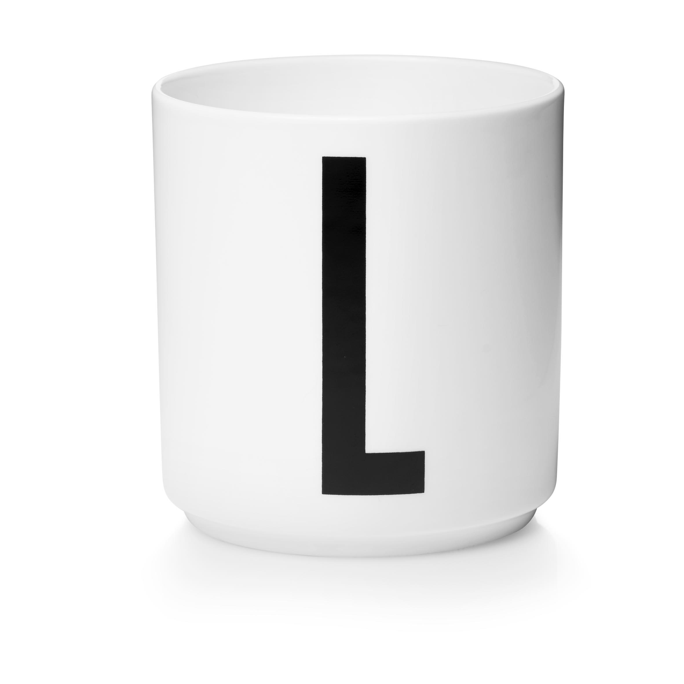Design Letters Porslinsmugg Vit, L