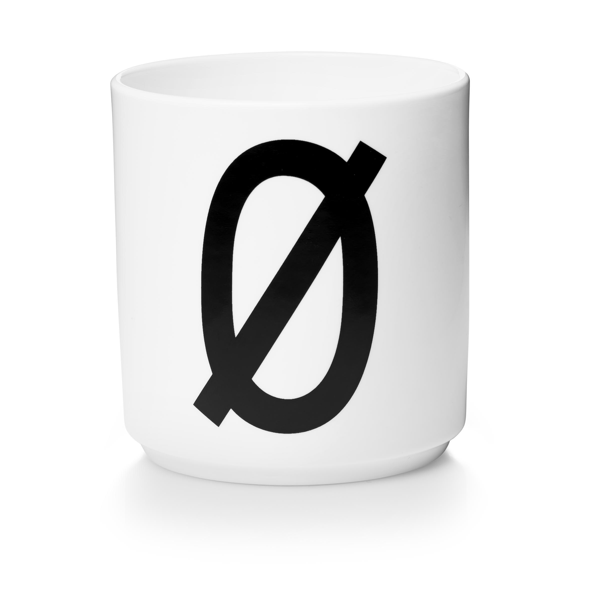 Design Letters Porslinsmugg Vit, Ø