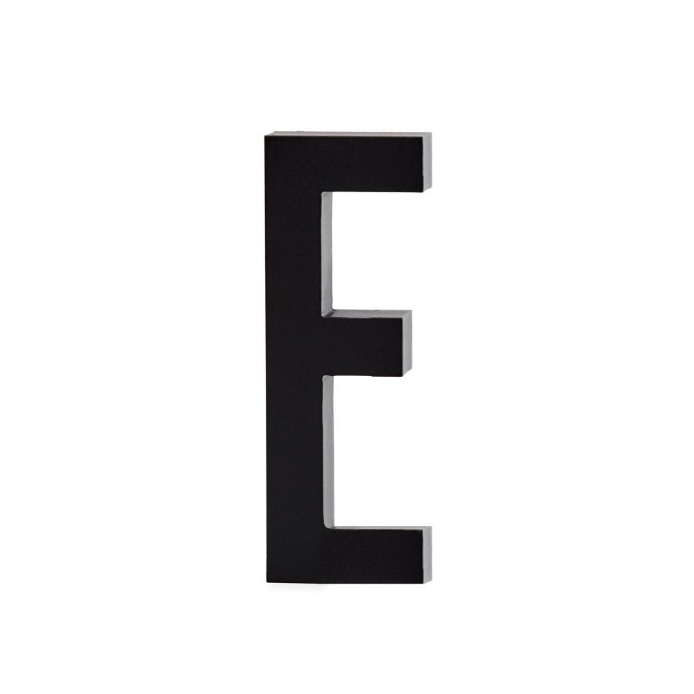 Design Letters Bokstav Grå i Aluminium 50 mm, E