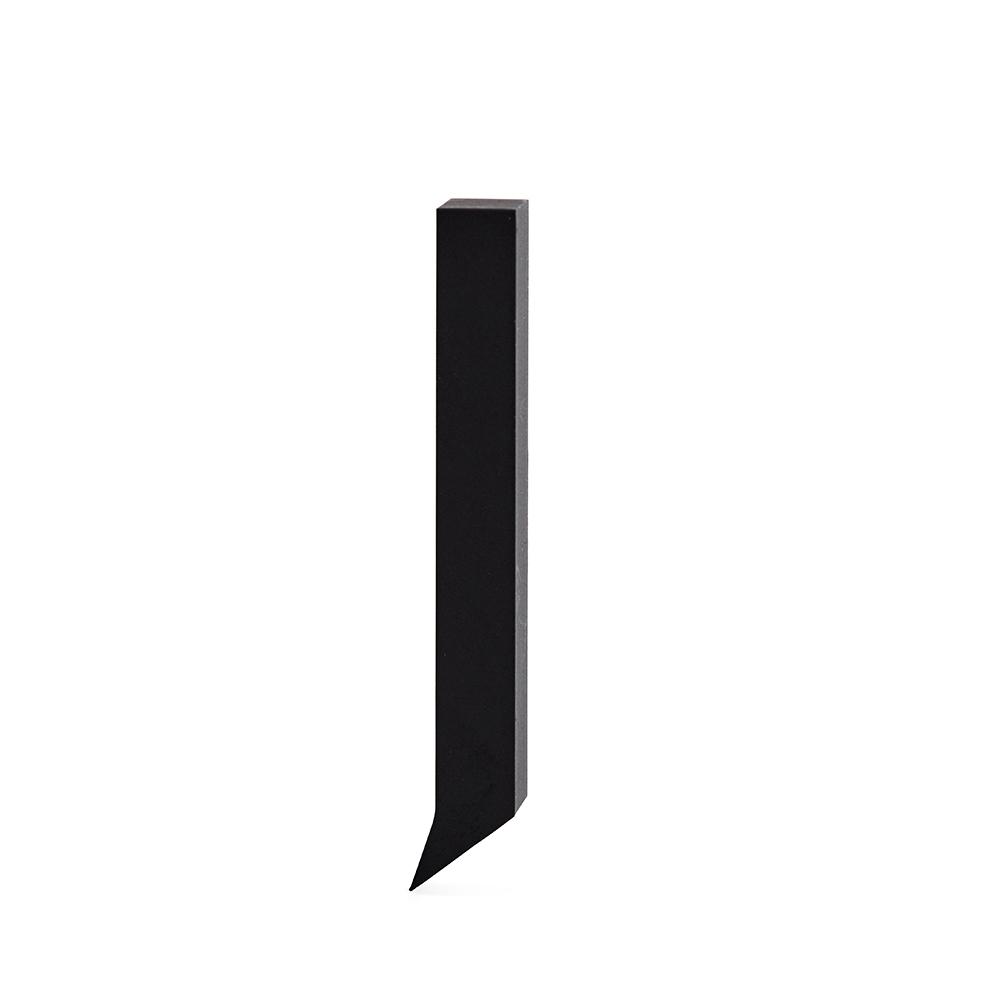 Design Letters Bokstav Grå i Aluminium 50 mm, J