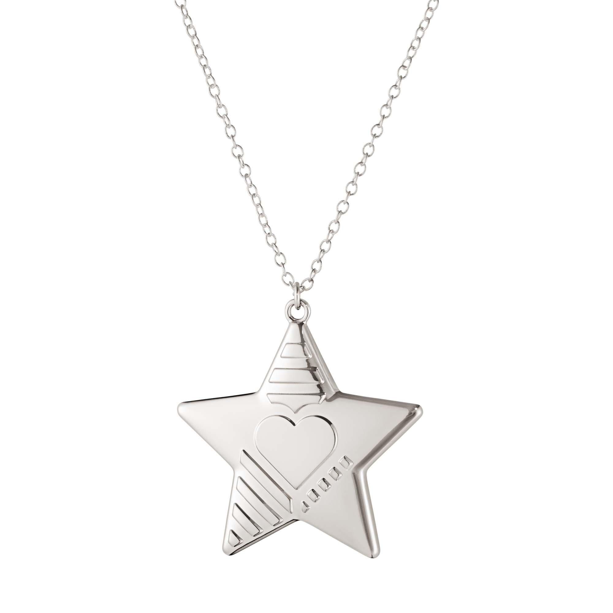 Georg Jensen 2019 Ornament Star Palladiumpläterad