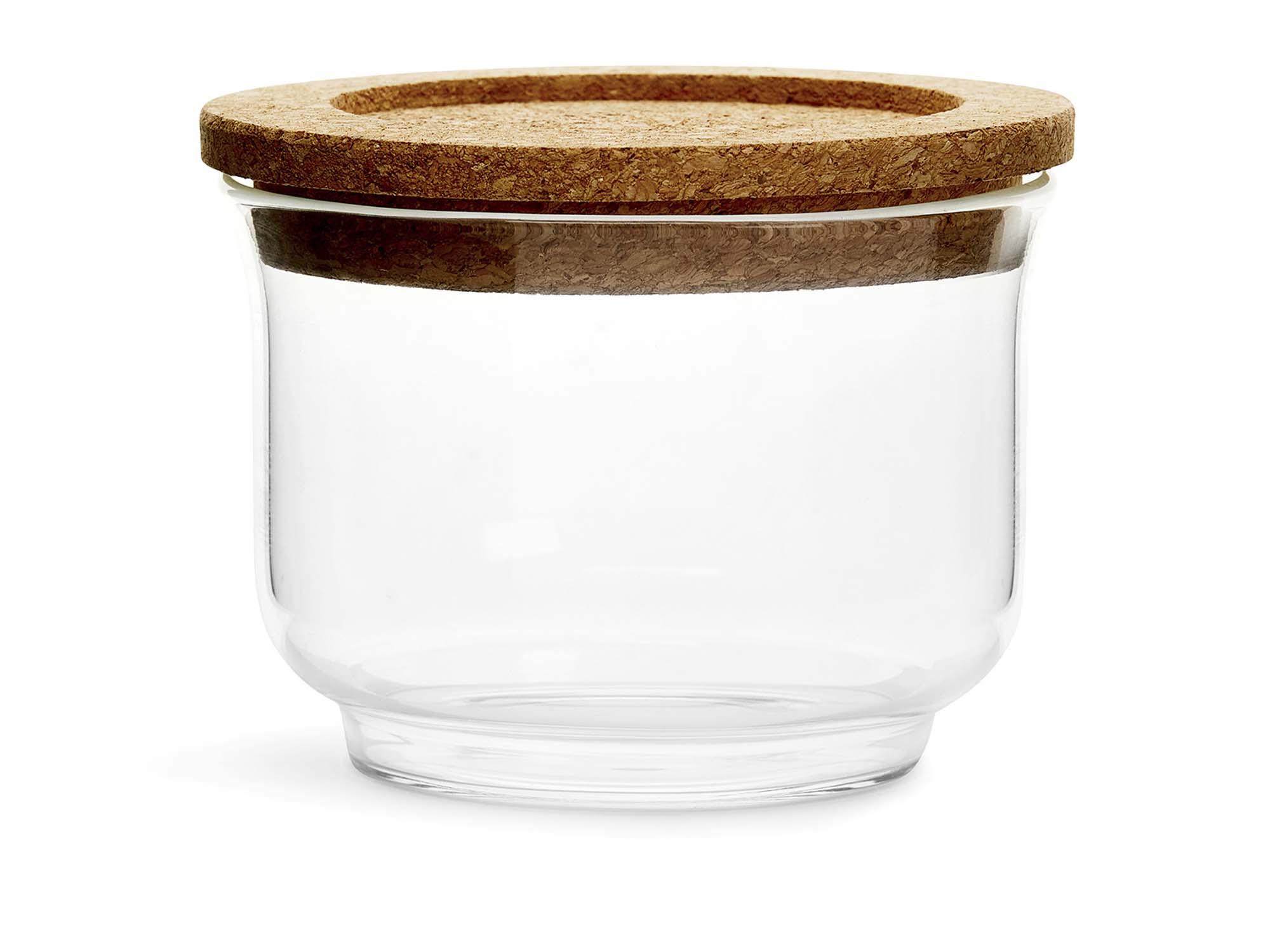 Sagaform Nature burk glas, liten
