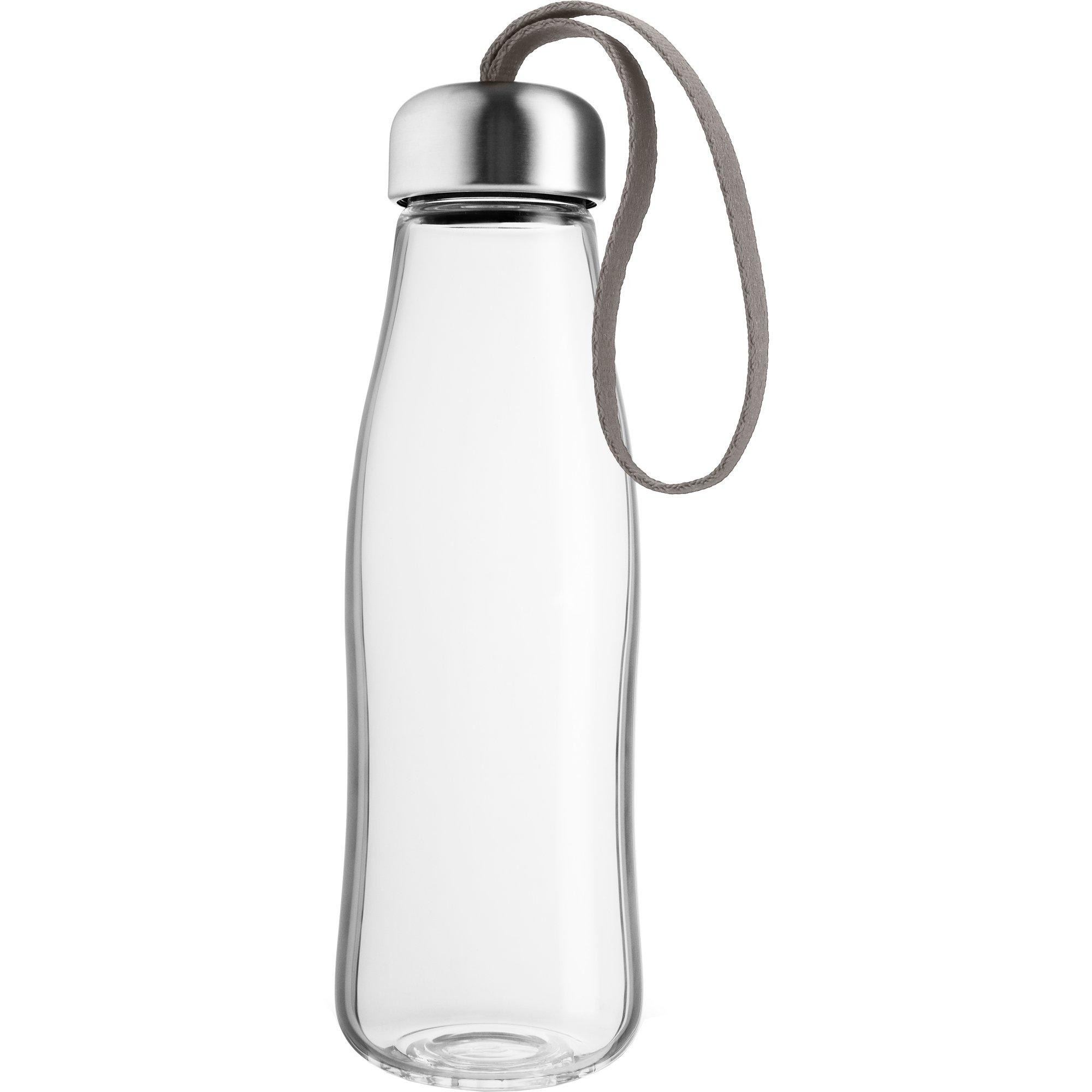 Eva Solo Glas Dricksflaska 05 liter taupe