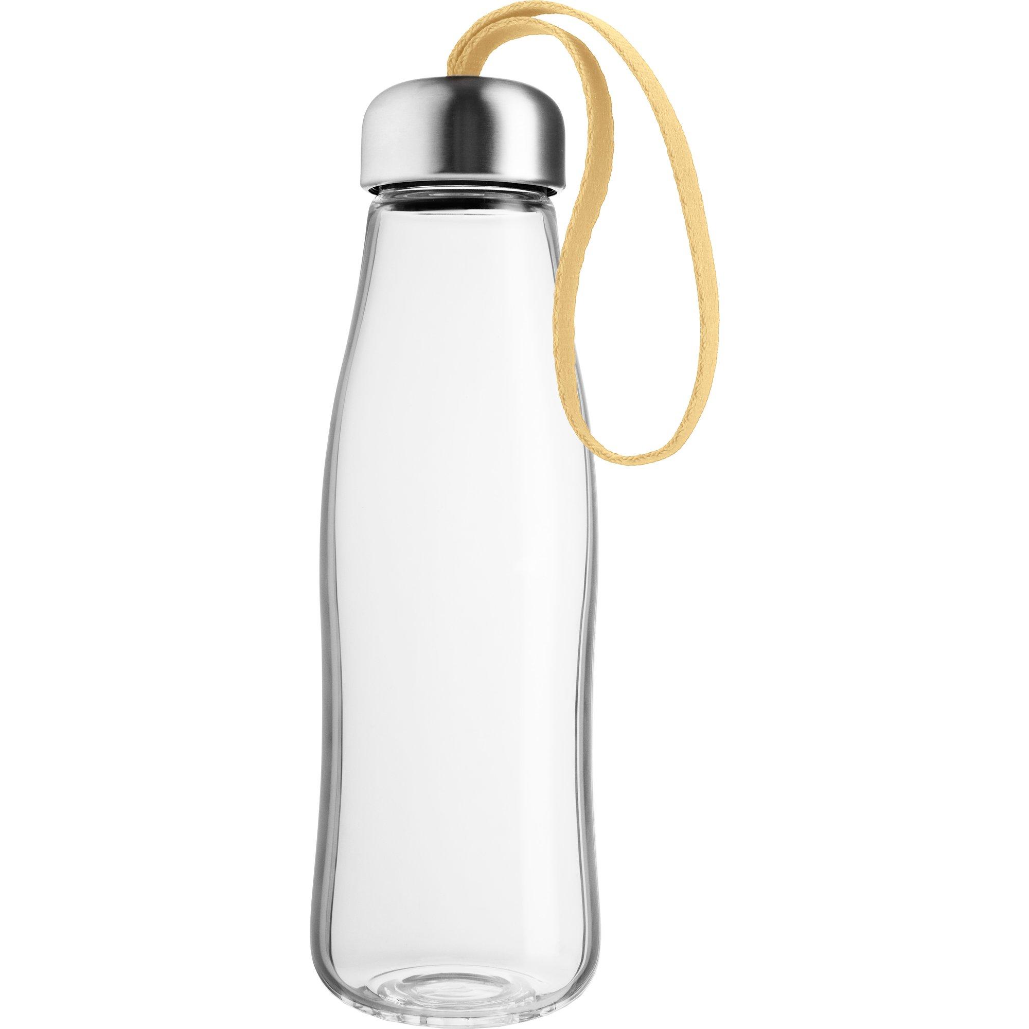 Eva Solo Glas Dricksflaska 05 liter lemon drop
